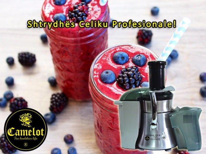Shtrydhësja e frutave IMPERIAL TECH nga ORGANIZATA NDËRKOMBËTARE E SHËNDETIT CAMELOT është e ndërtuar me standarte të larta në mënyrë që ju të arrini kërkesat më të larta për të patur maksimumin nga lëngu i frutave.