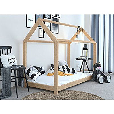 17 migliori idee su kinderbett haus su pinterest camera da letto montessori cameretta. Black Bedroom Furniture Sets. Home Design Ideas