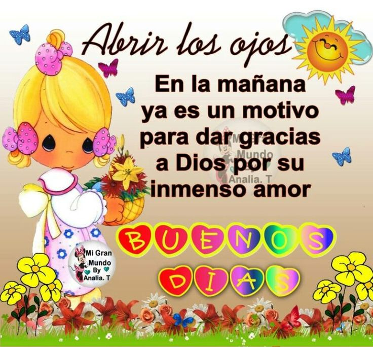 Good Morning Cards In Spanish : Best images about dios on pinterest amigos dice and