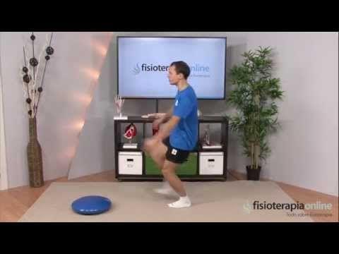 Ejercicios para Fortalecer la rodilla. Nivel de recuperación medio. - YouTube