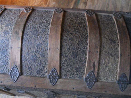 Tips on restoring steamer trunks - of which I have several, in various levels of terrible shape.