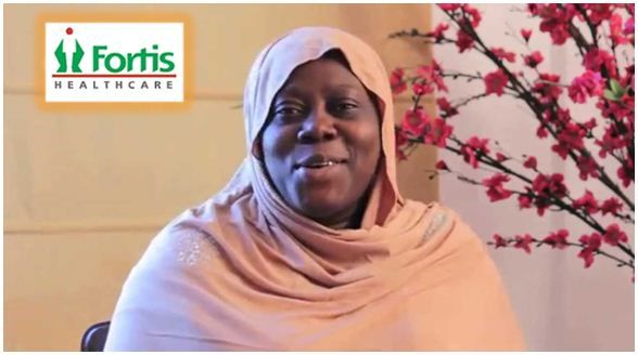 Fortis Doctors Successfully Conduct Fibroid Surgery Patients from Kenya