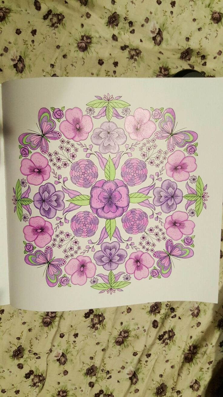 Joyous Blooms To Color Adult ColoringColoring BooksHobbies