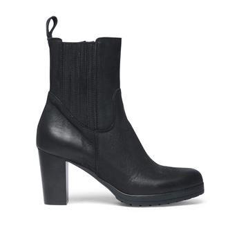 Manfield - zwarte laarzen