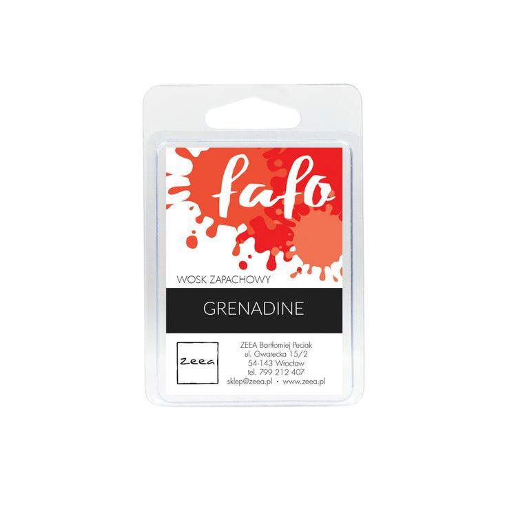 FAFO - sojowy wosk zapachowy, Grenadine.
