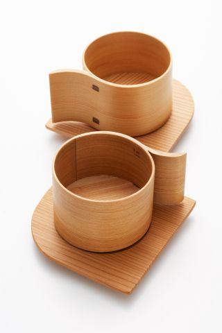 As xícaras da coleção Alpha unem a tradição da técnica wappa ao design atual.