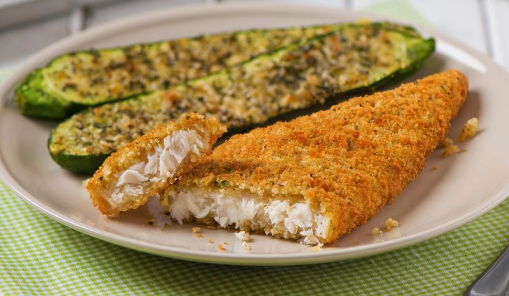 Gorton's Seafood   Tuscan Garlic & Herb Tilapia with Parmesan Zucchini
