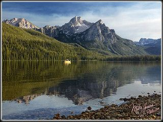 Smoky Stanley | I've been up in the Sawtooth Mountains of Id… | Flickr