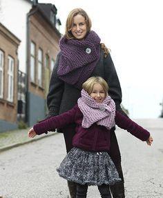 Har du någorlunda flinka fingrar stickar du vinterns skönaste halsduk på några timmar. Sticka till dig själv, din dotter eller kanske ditt barnbarn. Ett är i vilket fall säkert – det enkla...