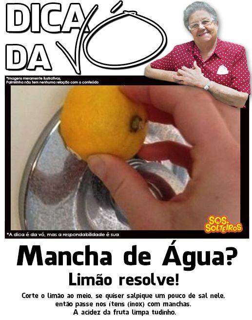mancha de água