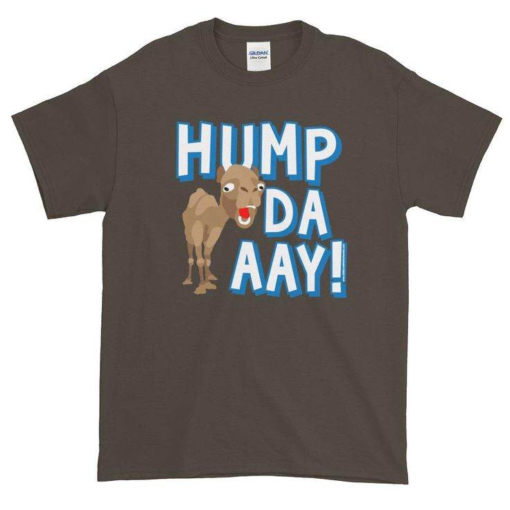 Funny Wednesday Hump Day Camel Short sleeve t-shirt