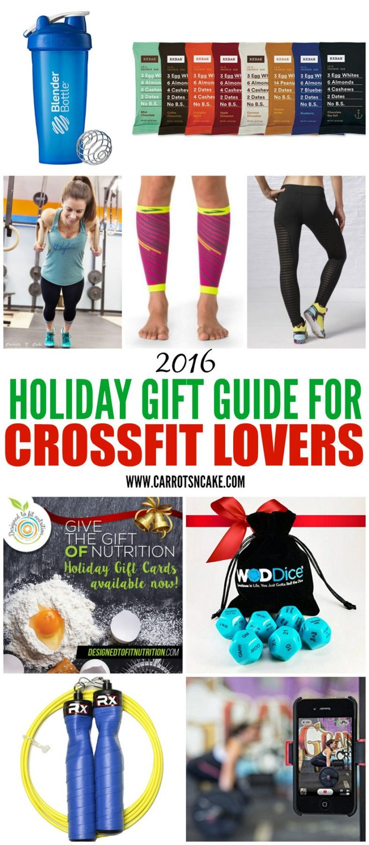 2016 Holiday Gift Guide for CrossFitters http://carrotsncake.com/2016/12/2016-holiday-gift-guide-for-crossfitters.html