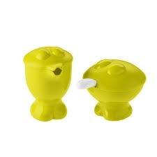 Praktyczny, zabawny zestaw składający się z cukiernicy i mlecznika marki Koziol. Produkt został wykonany z najwyższej jakości tworzywa sztucznego. Zestaw dostępny jest w trzech wersjach kolorystycznych.