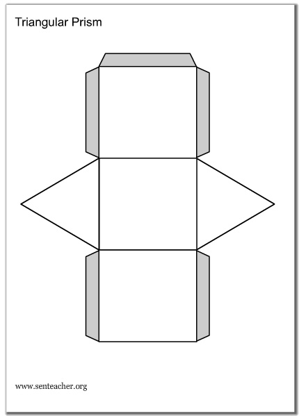 geometric shapes templates       senteacher org  wk