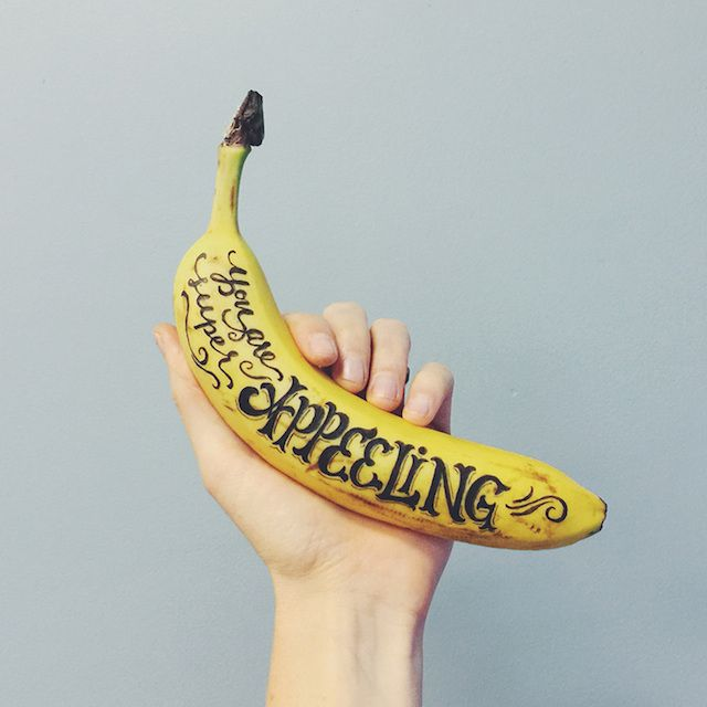 Could be a great advertising campaign to raise awareness of Better Bites, use fresh fruit and photography.