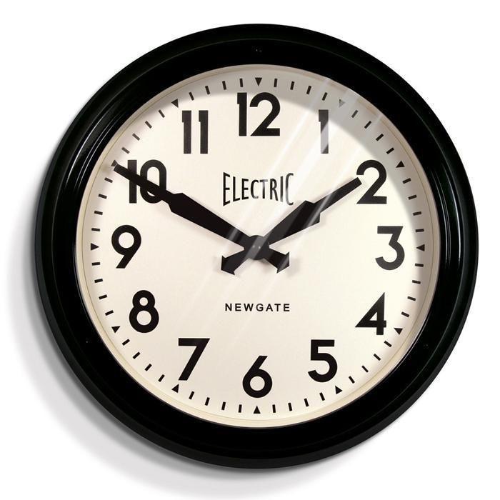 Vintage Electric Station Clock 60cm Newgate House