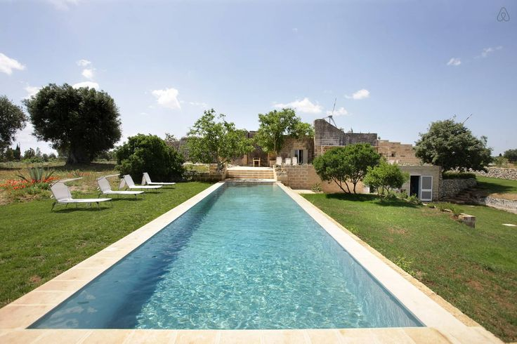 Country house with pool in Salento