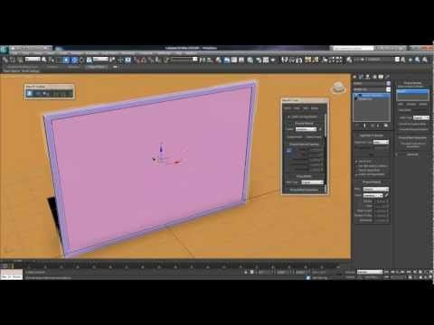 3ds Max 2012 Mirror Shattering (Mass FX) Tutorial (2/3)