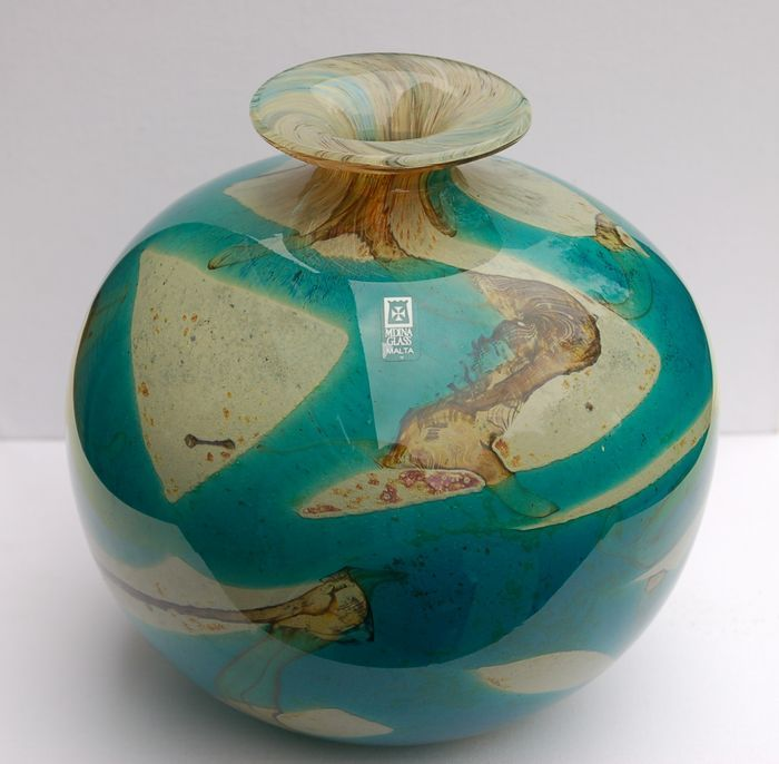 Catawiki online auction house: Mdina glass - vaas