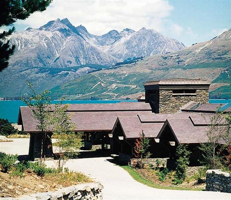 Blanket Bay Lodge Glenorchy NZ