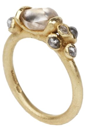 Ruth Tomlinson Diamonds and Wedding collection natural diamond ring - Gift Guide - How To Spend It