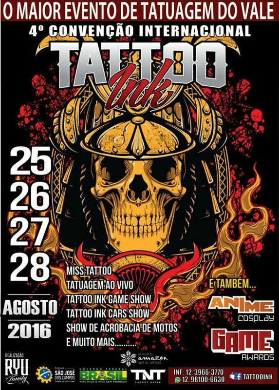 Tattoo Convention Ink Brasil  25 - 28 Août   2015