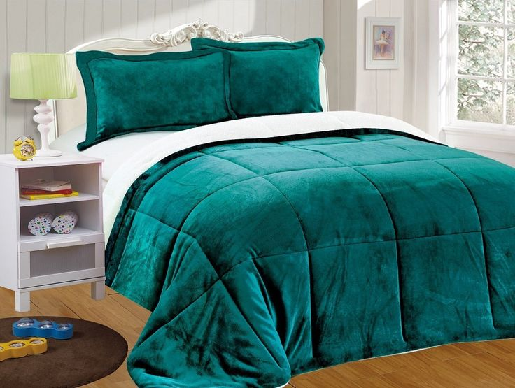 62 Best Comforter Set Sherpa Images On Pinterest