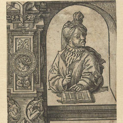 De profeet Amos, Jacob Cornelisz van Oostsanen, 1521 - 1525 - Rijksmuseum