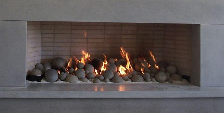"Mixture of 73 Balls and Half-Balls on a 60"" wide CXF burner www.rasmussen.biz/logs/custom_sets.htm"