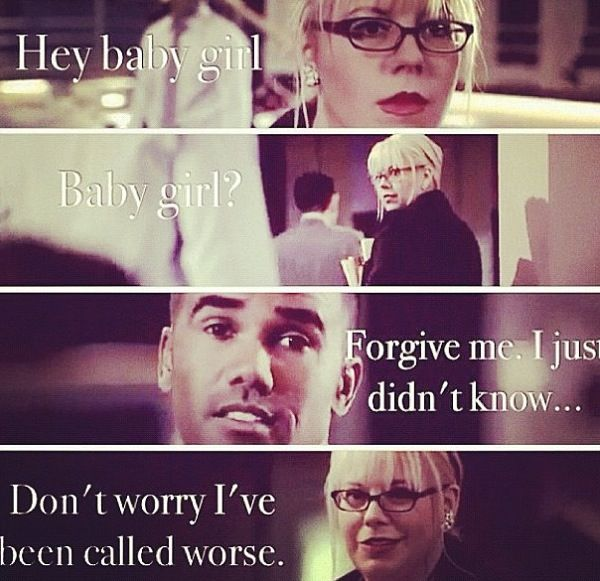 derek penelope dating criminal minds Criminal minds kirsten vangsness and shemar moore are great friends, both on-screen and off so, in essence, even though the bau is one agent short, the team of derek and penelope lives on.