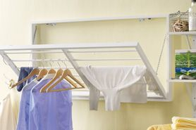 DIY Project: Create a Wall-hanging Clothes Rack - Drummond House Plans Blog