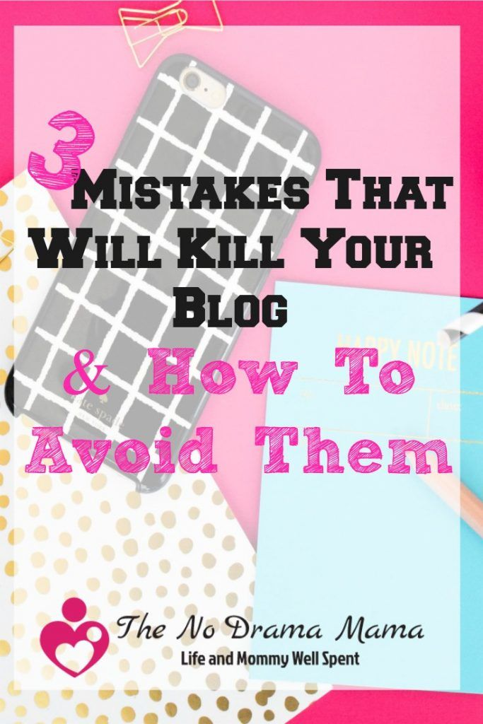 Here 3 blogging for beginner tips that will help you avoid mistakes that could kill your blog before it has a chance to grow.
