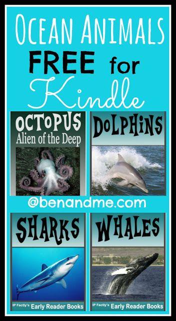 Free for #Kindle -- 4 Ocean Animals Books! #KindleFreebies #homeschool