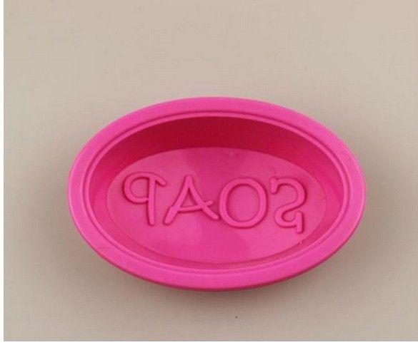 zeep ovale siliconen oven handgemaakte zeep mallen candy making mallen diy $3,02 (free shipping)