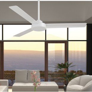 Large Ceiling Fan White Wayfair Outdoor Ceiling Fans Ceiling Fan Propeller Ceiling Fan