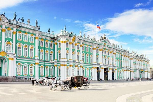 Hermitage museum in Sint Petersburg Russia