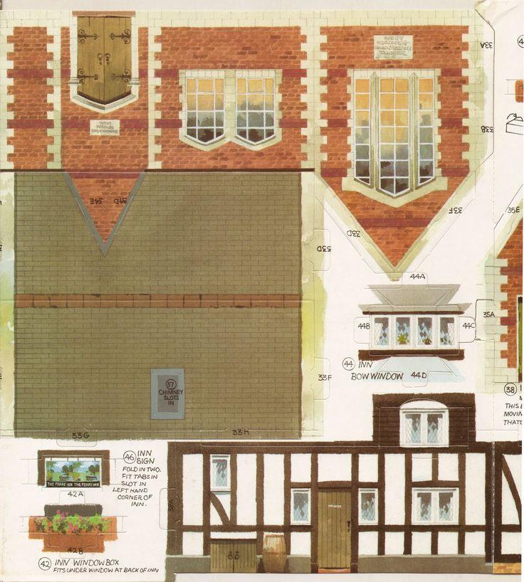 Toys and Stuff: Kellogg's UK Paper Village Sheet 3 Pt 3