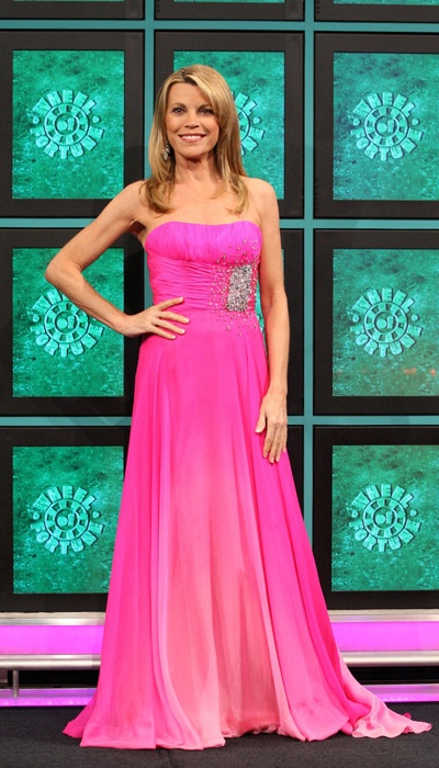 Vanna White in Sherri Hill