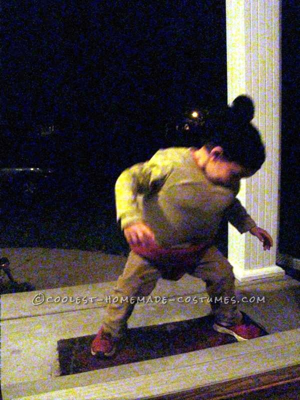 Homemade Child Sumo Wrestler Costume ... This website is the Pinterest of costumes