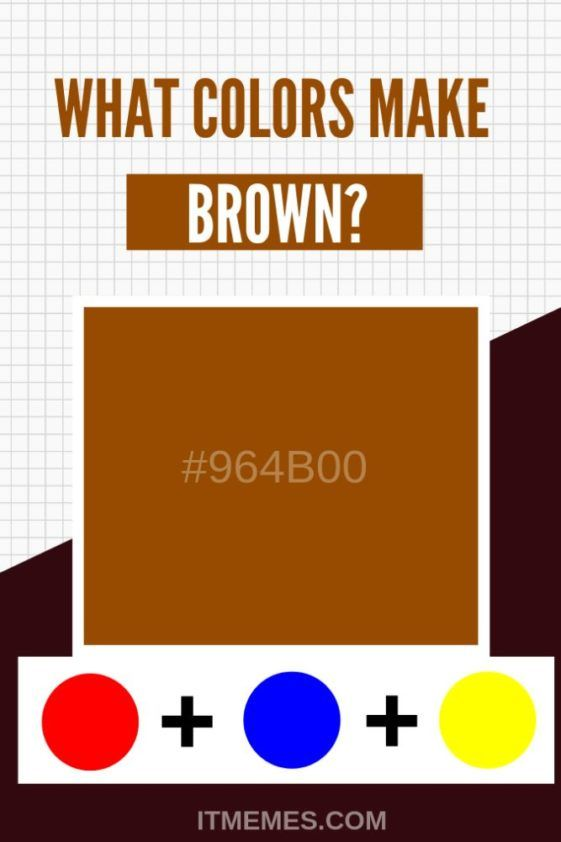 Two Colors That Make Brown : colors, brown, Curious, Color, Mixing?, Mixing, Primary, Secondary, Colors, Produce, Co…, Brown,, Guide,