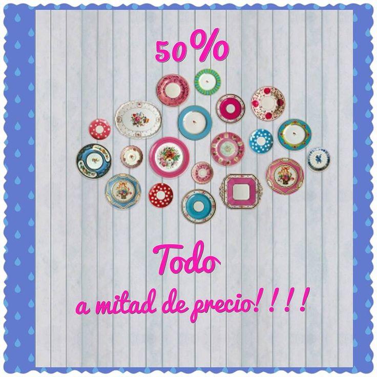 Azules - Tienda de moda infantil.  ¡¡Descuento del 50%!!