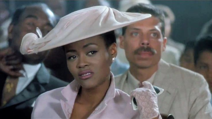 "Robin Givens in ""A Rage in Harlem"" (1991)"