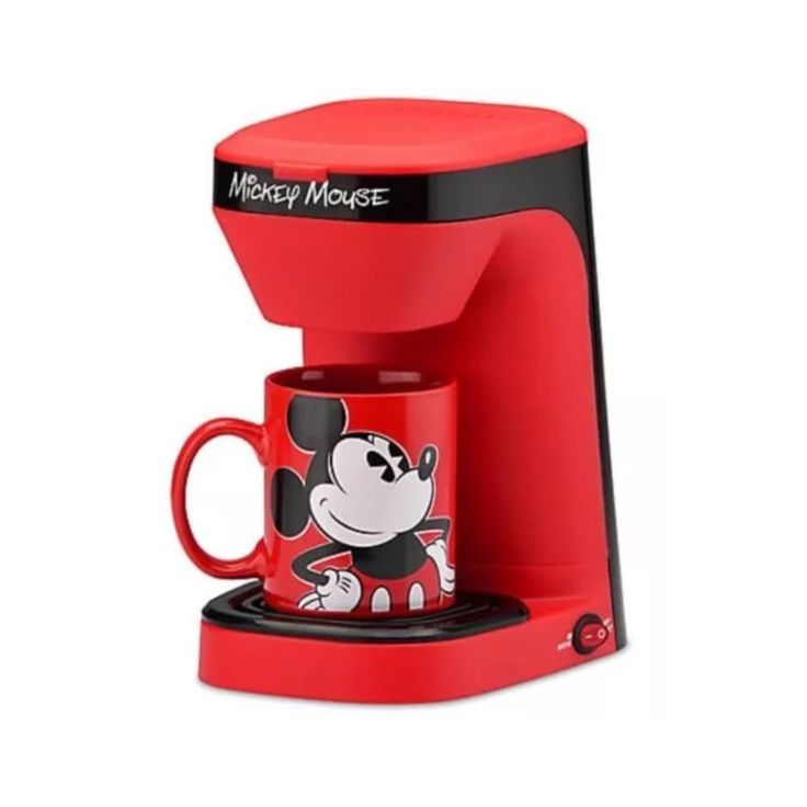 Disney DCM-123CN Mickey Mouse single serve (1 cup) coffee maker  #Disney