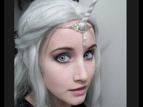 Unicorn Cosplay Tutorial look at the horn we can make them easily