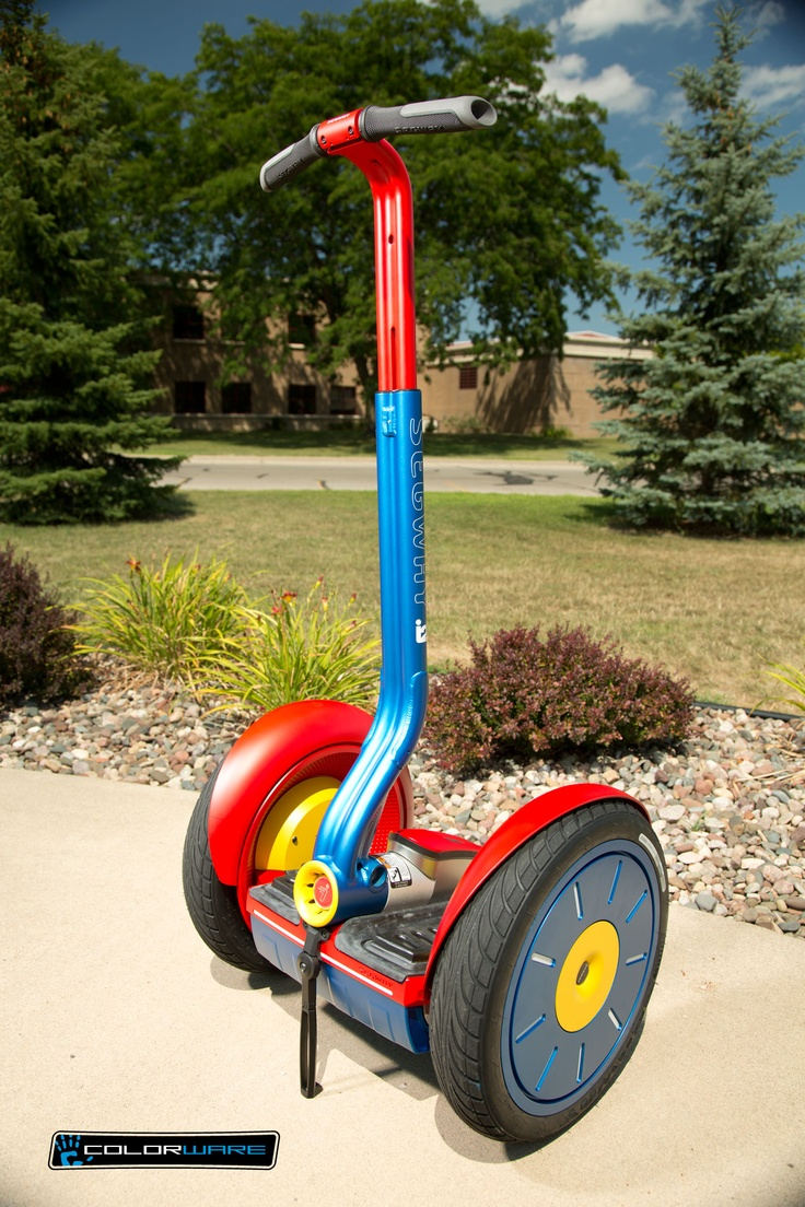 Are you ready for an adventure? Check out the ColorWare custom Segway i2! http://www.colorware.com/p-231-segway-i2.aspx