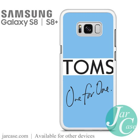 Toms One For One Phone Case for Samsung Galaxy S8 & S8 Plus