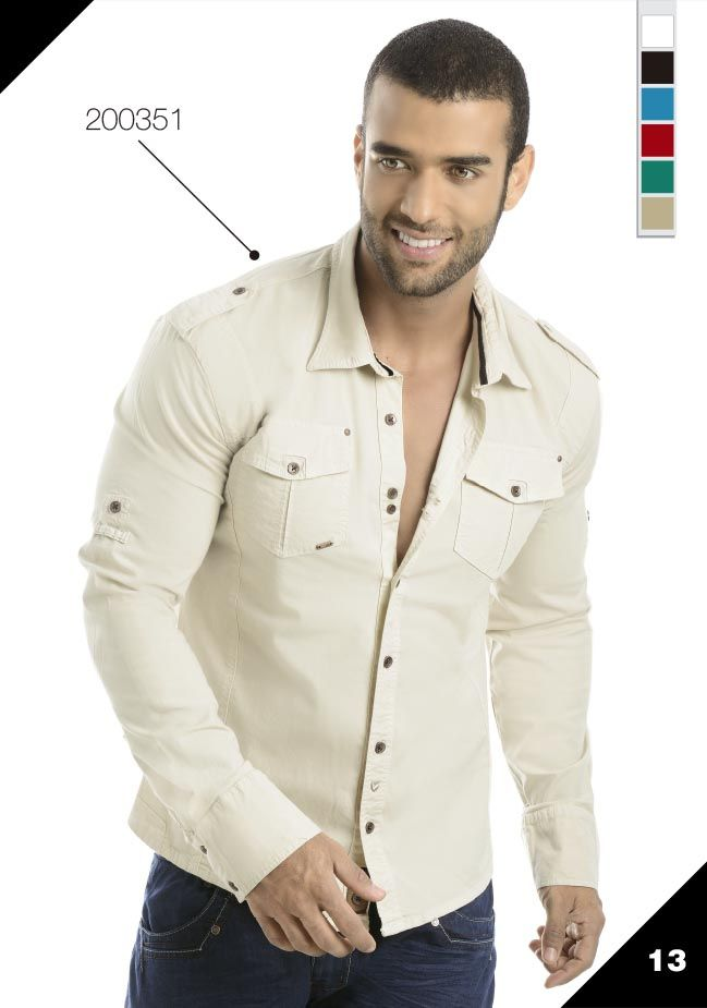 Ref: 200351 Ropa de moda para hombre / Mens fashion clothing Sexy, yet Casual Mens Fashion #sexy #men #mens #fashion #neutral #casual #male #males #guy #guys #hot #hotlooks #great #style #styles #hair #clothing #coolmensoutfits www.ushuaiajeans.com.co
