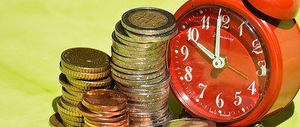 Tempo É Dinheiro, Moedas, Moeda, Euro