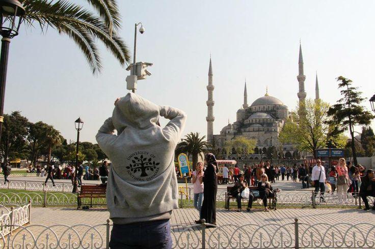 The #FamousSDUhoodie in #Istambul, #Turkey, #University of Southern #Denmark  https://www.facebook.com/unisouthdenmark