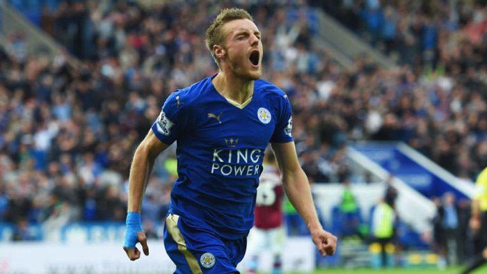 Berita Liga Inggris hari ini 2015: Vardy tidak merasa tertekan kejar rekor